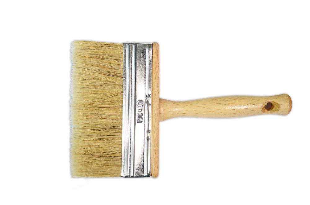 Кисть-макловица, лакированная ручка, длинная щетина 30х130мм (Украина)
