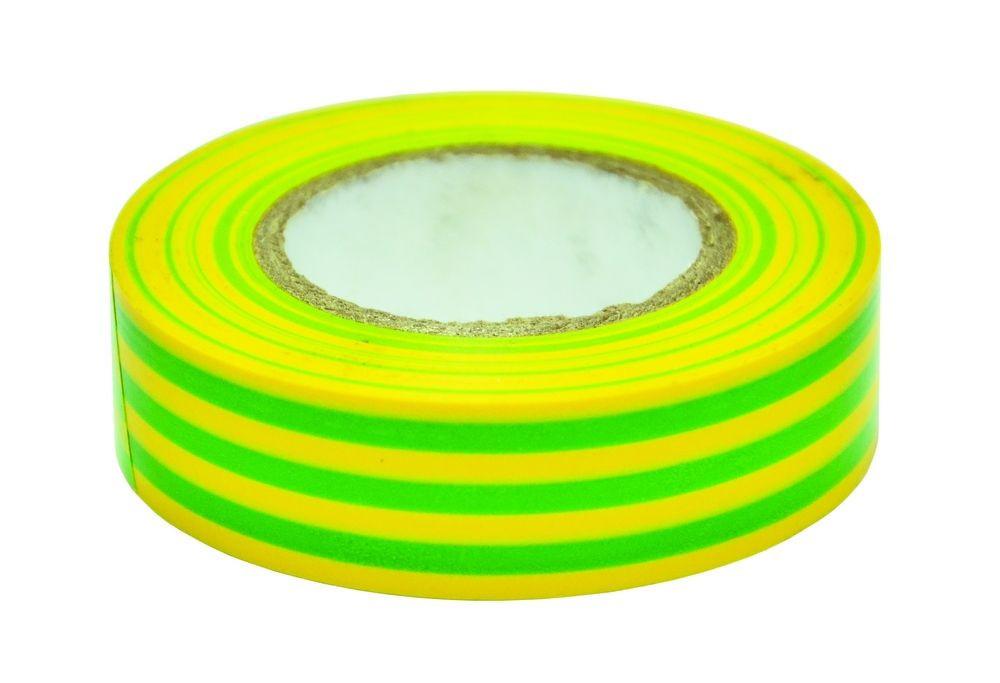 Изолента ПВХ,зелёно-жёлтая, 19 мм х 20 м  - А1-ТРЕЙД в Днепре