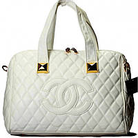 Женская сумка CHANEL белая