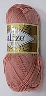 Пряжа diva - цвет пепельно-розовый
