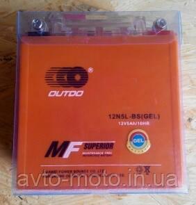 Аккумулятор АКБ 12v5a OUTDO 110x105x67