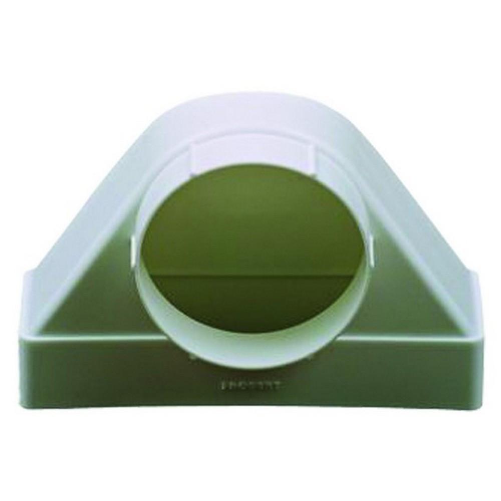 Соединитель 90°, прямого воздуховода с фланцем, 60х120/D 100 мм (6