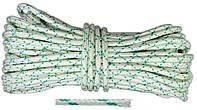 """Шнур капроновый плетеный """"Евро"""", D 6 мм, 25 м, (Украина)"""