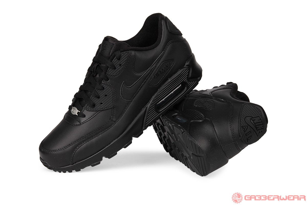 Мужские кроссовки Nike air max 90 leather (Артикул  302519-001 ... 19f46d01ab6ee