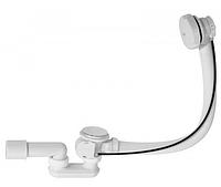 Сифон для ванны автомат комплект белый  57 см A51BM-57     Alco Plast Алько Пласт