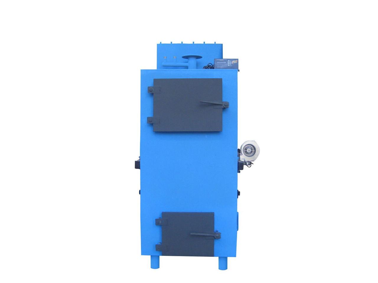 Котел твердотопливный пиролизный Ника 20-30 кВт без облицовки