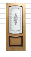 Полотно дверное шпонированное Наполеон