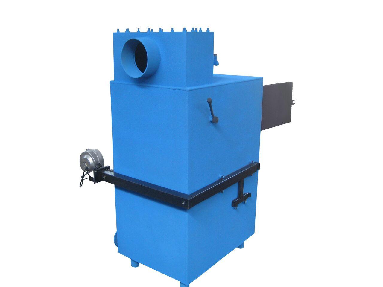 Котел твердотопливный пиролизный Ника 40-50 кВт без облицовки