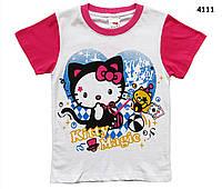 Футболка Hello Kitty для девочки. 130 см