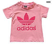 Футболка Adidas для девочки. 100, 110 см, фото 1