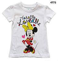 Футболка Minnie Mouse для девочки. 18-24 мес, 4, 5 лет
