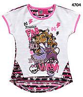 Футболка-туника Monster High для девочки. 6-7 лет