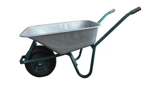 Тачка строительная одноколесная, объем вода/песок 90/170 л, грузоподъе