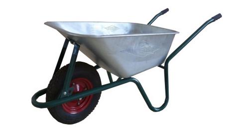 Тачка строительная одноколесная, объем вода/песок 85/170 л, грузоподъе