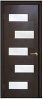 Дверное полотно ПВХ Домино венге 80 см