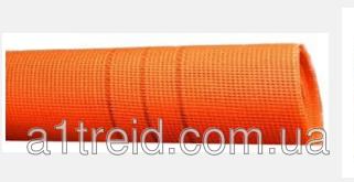 Фасадная сетка 160г/м2,  5мм х 5мм,  1м х 50м/рул.  Orange (2рул./упак