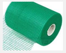 Фасадная сетка 145г/м2,  5мм х 5мм,  1м х 50м/рул.   Green (2рул./упак
