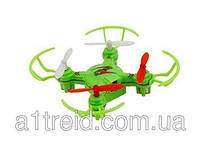 Квадрокоптер нано р/у 2.4Ghz WL Toys V646-A Mini Ufo (зеленый)