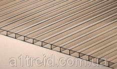Лист поликарбоната L!ke™ 4 мм бронза (Россия, гарантия 10 лет) б