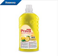Жидкость для мытья универсальная Prava (яблоко), 1 л