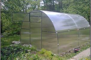 Теплица из сотового поликарбоната 3*4 поликарбонат 4мм, фото 2