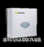 Инвертор напряжения сетевой GROWATT 3000 (3кВ, 1-фазный, 1 МРРТ)