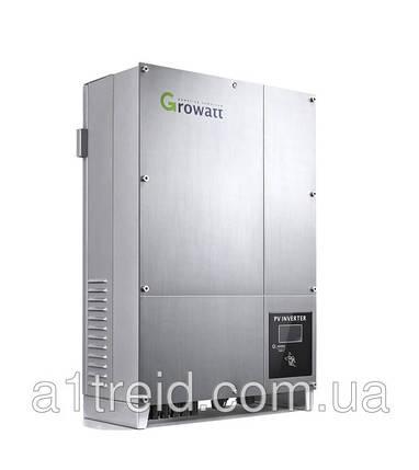 Инвертор напряжения сетевой GROWATT 10000UE (5кВ, 3-фазный, 2 МРРТ), фото 2