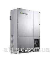 Инвертор напряжения сетевой GROWATT 10000UE (5кВ, 3-фазный, 2 МРРТ)