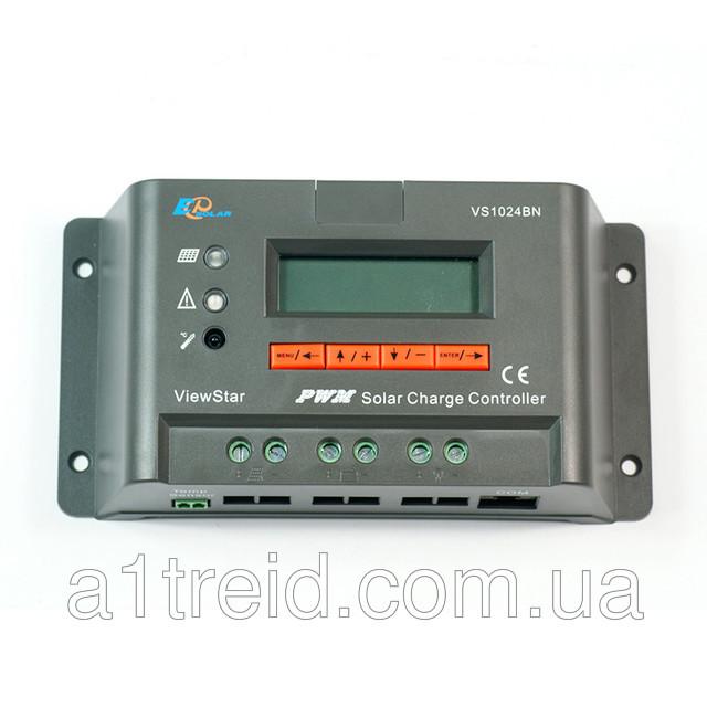 Контроллер заряда EPSOLAR VS1024BN, 10A 12/24В