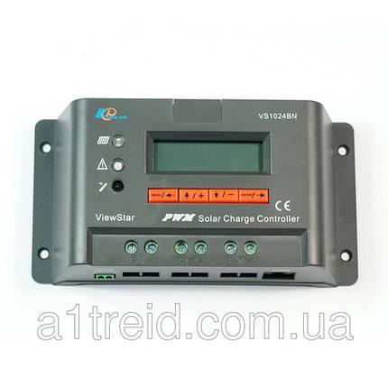 Контроллер заряда EPSOLAR VS1024BN, 10A 12/24В, фото 2