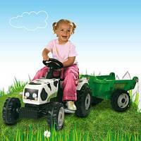 Трактора, веломобили на педалях.