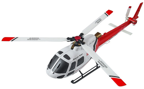 Вертолёт 3D микро 2.4GHz WL Toys V931 FBL бесколлекторный (красный) СЕ