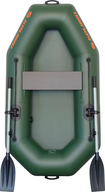 Резиновая лодка надувная одноместная гребная 190*105 см Колибри (Kolib