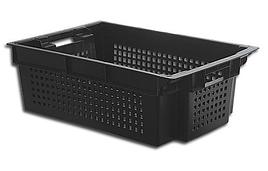 Ящик пластиковый перфорированный со сплошным дном 600х400х200 ЯПМ 05 от 20 шт