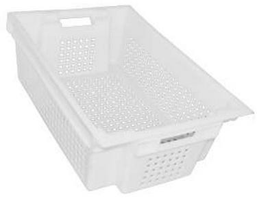 Ящик пластиковый пищевой перфорированный 600х400х200 ЯПМ 01 от 20 шт.