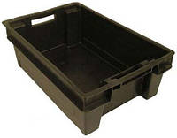 Ящик пластиковый сплошной 600х400х200 ЯПМ 06 от 20 шт