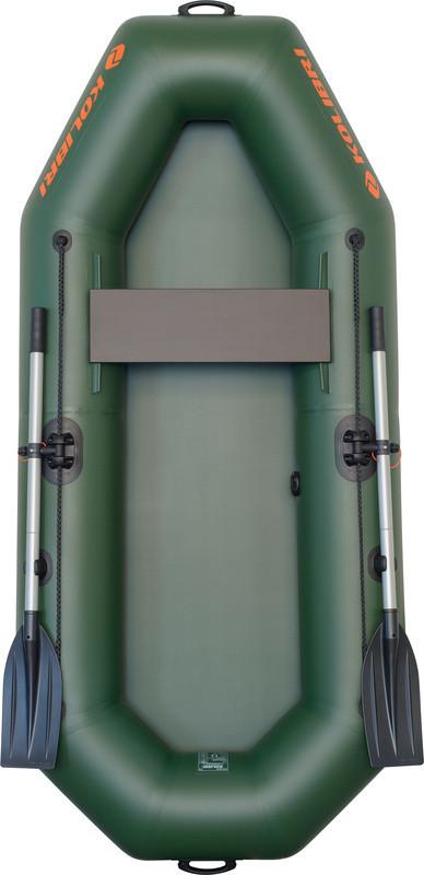 Резиновая лодка надувная одноместная гребная 230*105 см Колибри (Kolib