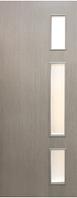 Двери межкомнатные со стеклом Соло МДФ