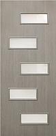 Двери межкомнатные со стеклом Этюд МДФ