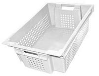 Ящик перфорированный с плошным дном пищевой 600х400х200 ЯПМ 02 от 20 шт