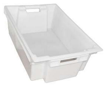 Ящик пластиковый сплошной пищевой 600х400х200 ЯПМ 03 от 20 шт