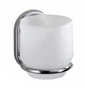 Стакан для зубных щеток одинарный стекло Haceka LaRonde Special Хасека, фото 2