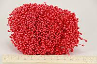 Цветочная тычинка  0,3см красная 1800шт