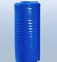 Емкость 100 л. вертикальная, двухслойная