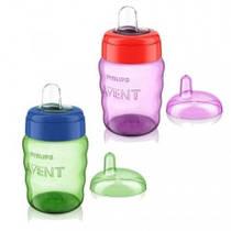 Чашка с носиком Avent SCF553/00, расцветки в ассортименте