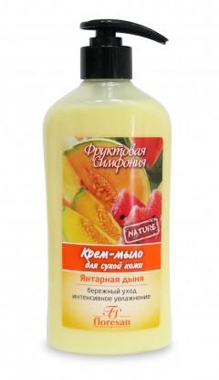 Крем-мыло для сухой кожи  Флоресан Янтарная дыня 500мл (4605313009759)