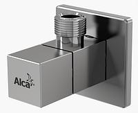 """Угловой четырехгранный вентиль 1/2""""x3/8"""" Алька Пласт ARV002 Alca Plast"""
