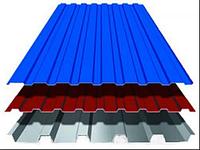 Профнастил заборный окрашенный 0.26 мм (0,95*1,2)