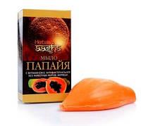 Аюрведическое мыло ААША Папайя, Ayurvedic Soap Papaya, Synaa Herbal Mix, Аюрведа Здесь