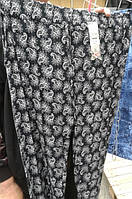 Летние брюки больших размеров из штапеля 10 расцветок раз от 48 до 56 купить недорого